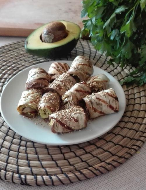 ricetta vegana rotolini-melanzane